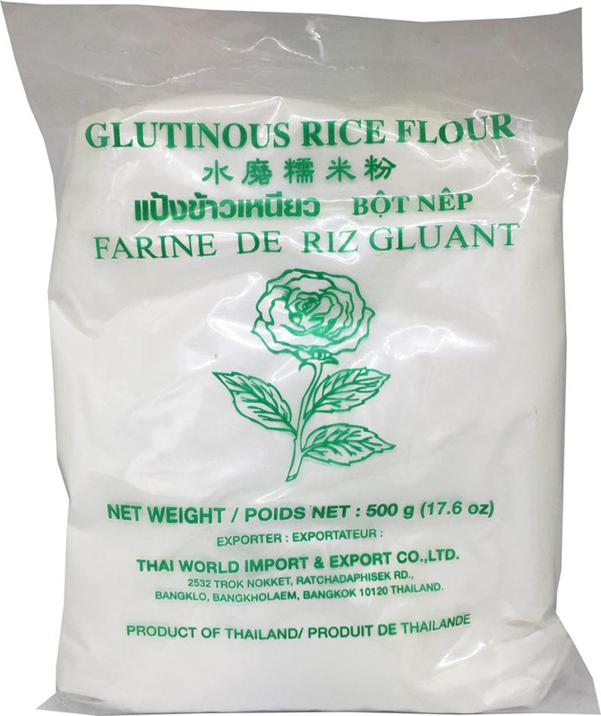 ROSE GLUTINOUS RICE FLOUR 500GM - Healthy U