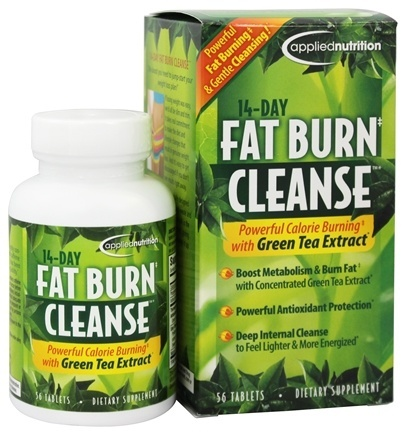 Applied Nutrtion 14day Fat Burn Cleanse 56ct Healthy U