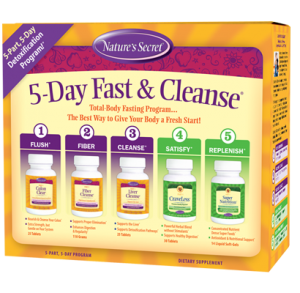 Natures Secret 5 Day Fast Cleanse Kit