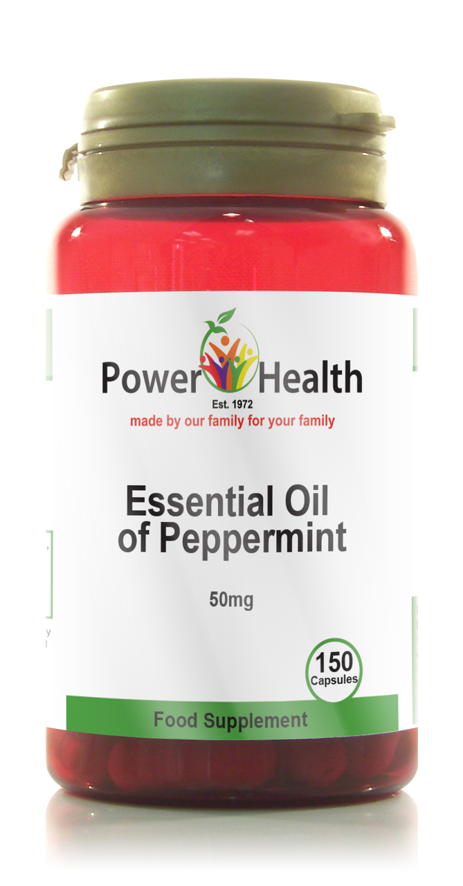 Natural Peppermint Oil Capsules