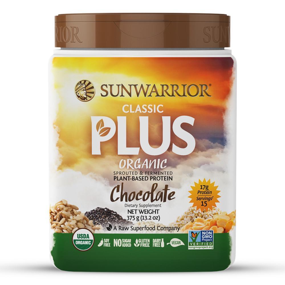 Sunwarrior Classic Protein Chocolate 375G