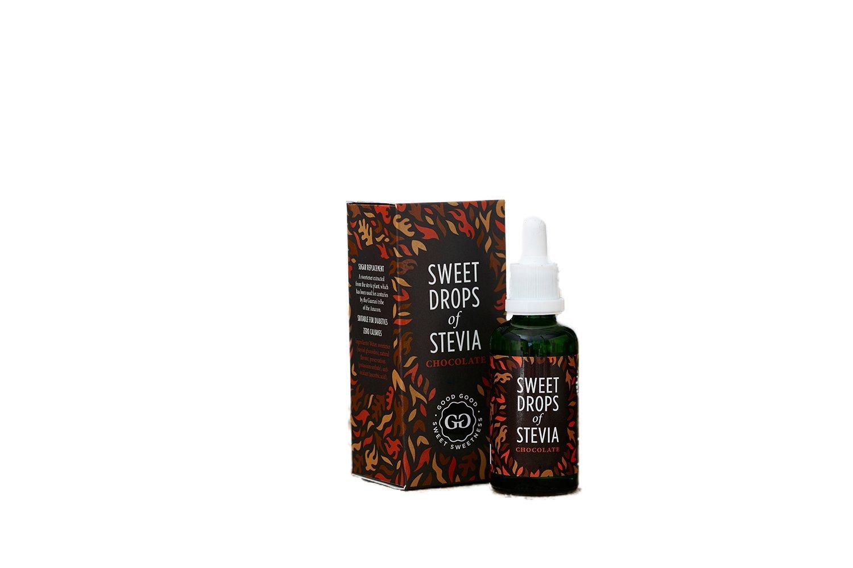 VIAHEALTH SWEET DROPS OF STEVIA - CHOCOLATE 50ML - Healthy U
