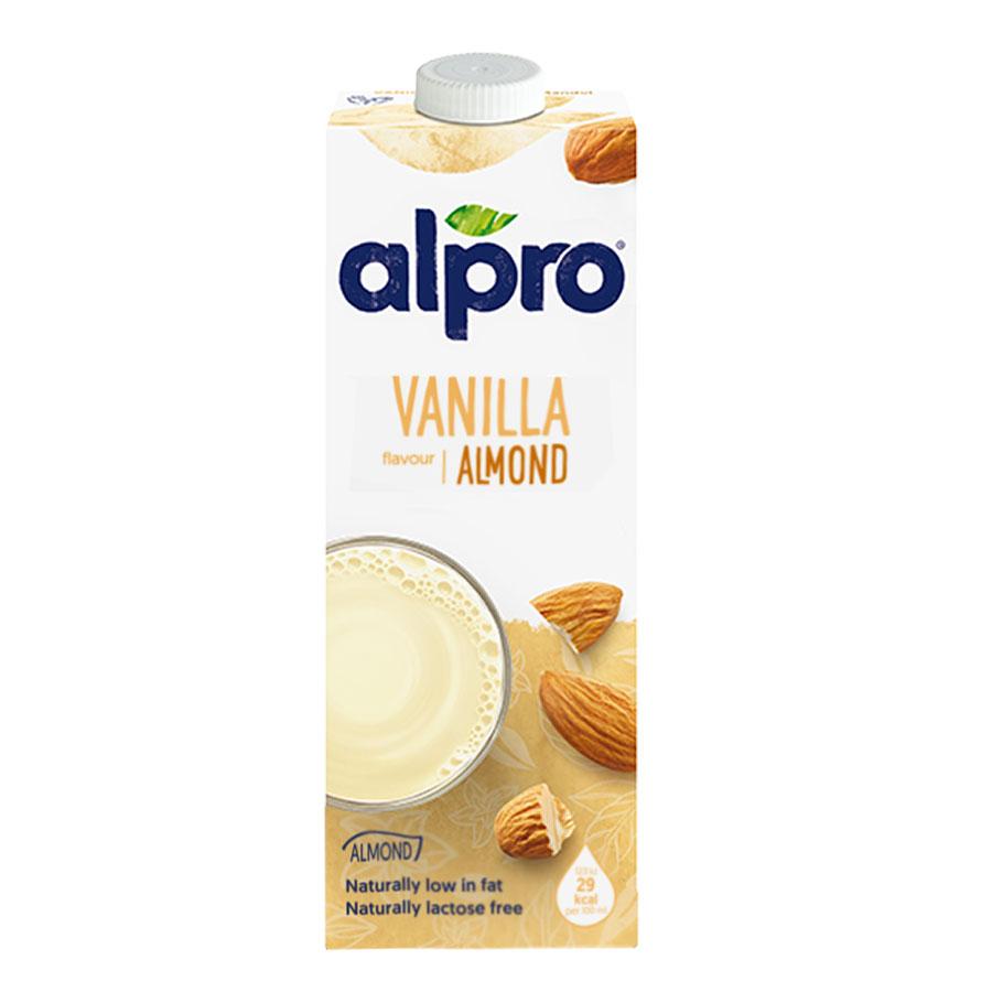 Alpro Original Almond Vanilla Milk 1Ltr