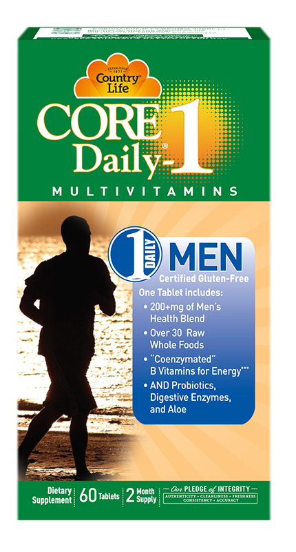 Country Life Core Daily 1 Men'S 50+ 60Caps