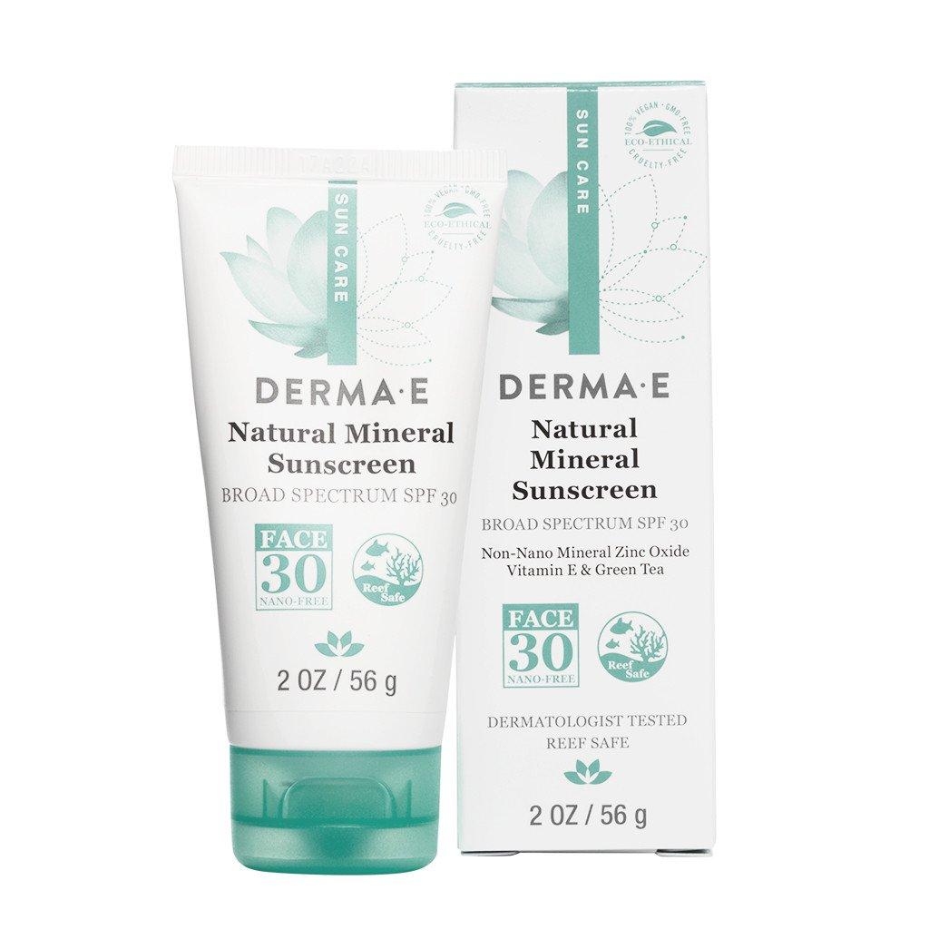 Derma E Natural Mineral Sunscreen Spf 30 56G #De0420.01