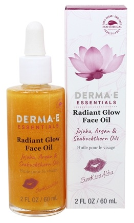 Derma E Sunkissalba Radiant Glow Face Oil 2Oz/60Ml#De1400