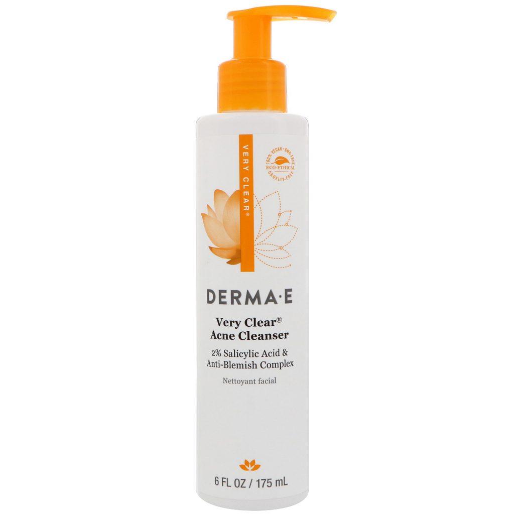 Derma E Very Clear Acne Cleanser 6Oz/175Ml #3700