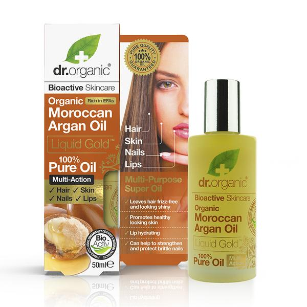 Dr Organic Moroccan Argan 100% Pure Oil 50Ml