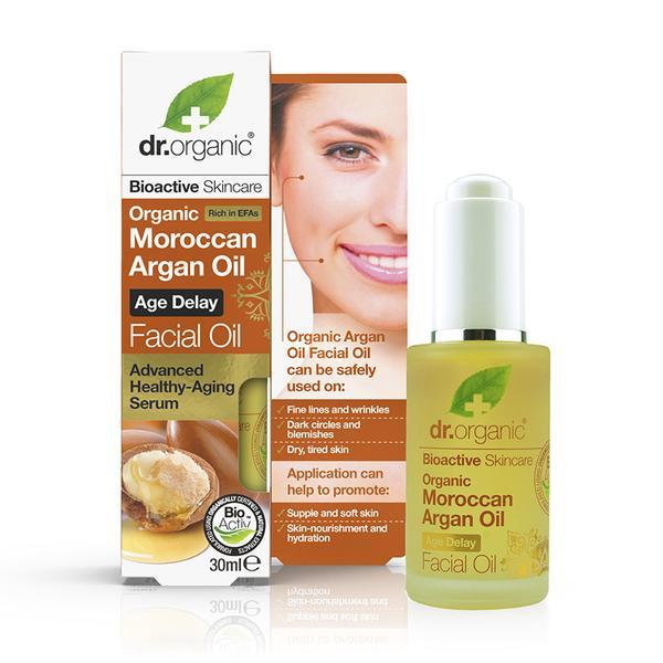 Dr Organic Moroccan Argan Oil Facial Oil 30Ml
