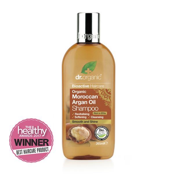 Dr Organic Moroccan Argan Oil Shampoo 265Ml