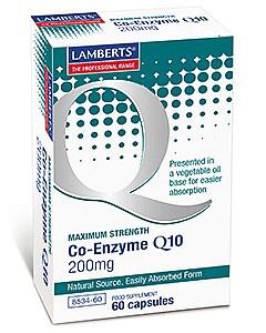Lamberts Co Enzyme Q10 200Mg 60Caps