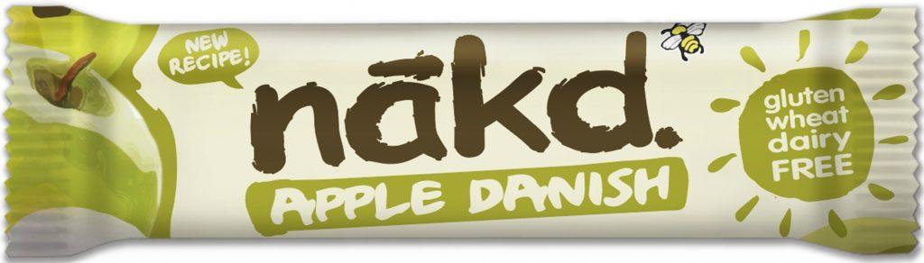 Nakd G/F Apple Danish Bar 30Gm 30Nkdadoat