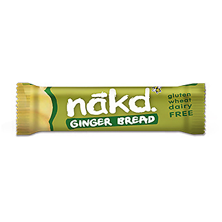 Nakd G/F Ginger Bread Bar 35Gm 35Nkdgfgb