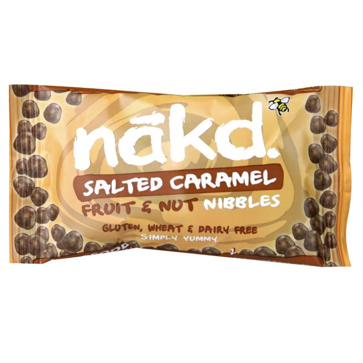 Nakd Salted Caramel Nibbles 40Gm 40Nkdmnsca