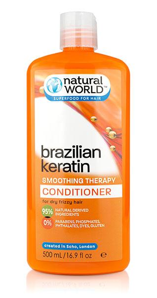 Nat World Keratin Oil Conditioner 500Ml