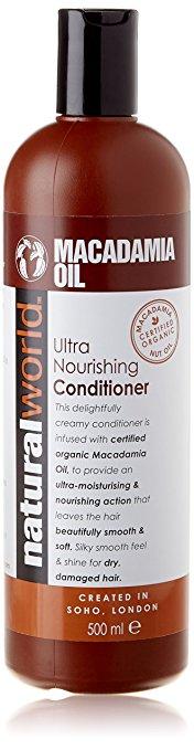 Nat World Macadamia Oil Conditioner 500Ml