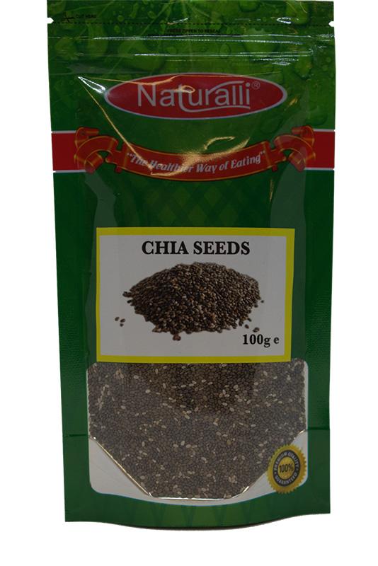 Naturalli Chia Seeds 100Gm