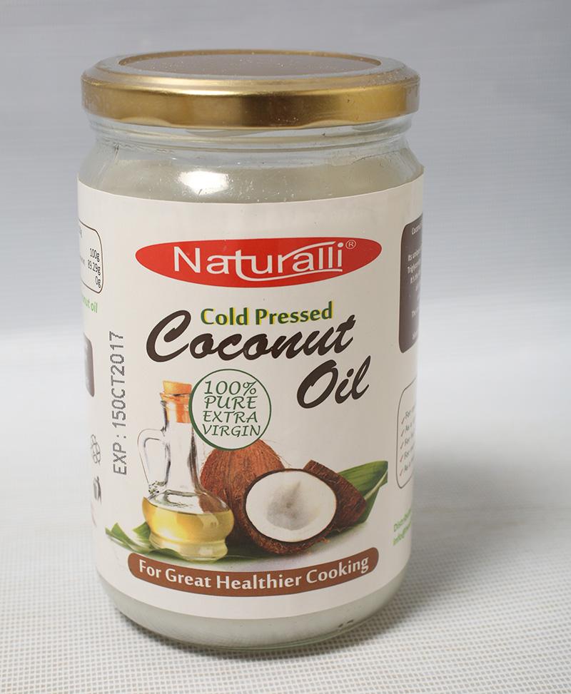 Naturalli Coconut Oil 650Ml