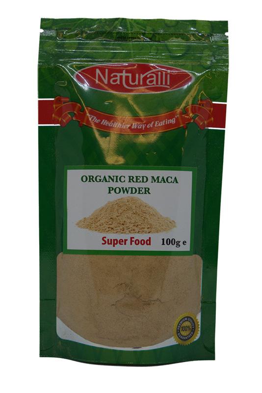 Naturalli Red Maca Powder 100G