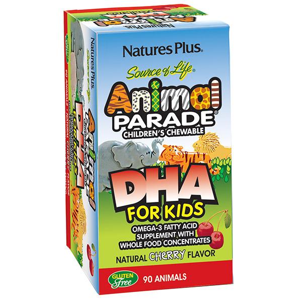 Natures Plus Dha Kid Cherry 90Animals