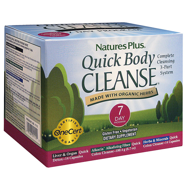 Natures Plus Quick Cleanse 7Day Prgrm
