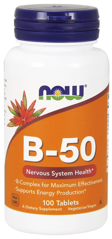 Now B-50 100Tablets