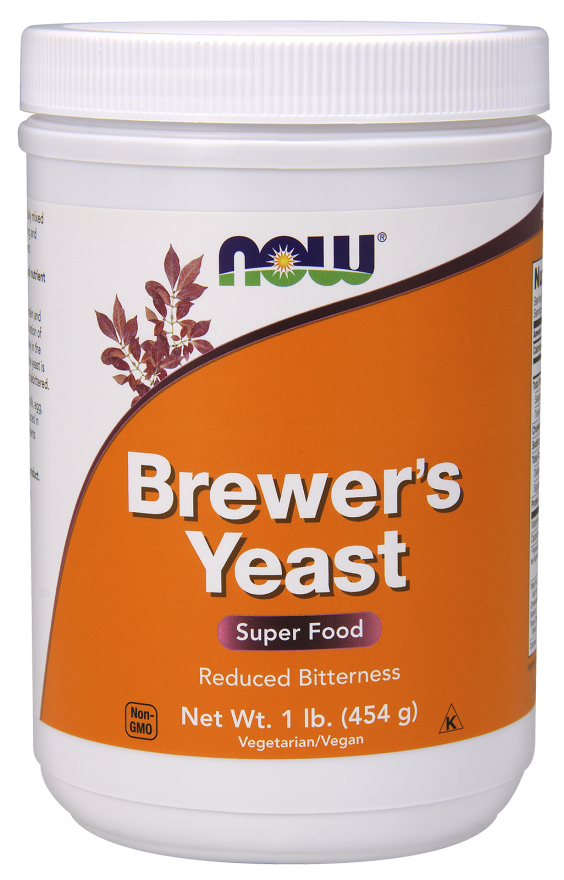 Now Brewers Yeast 1Lb 454Gm