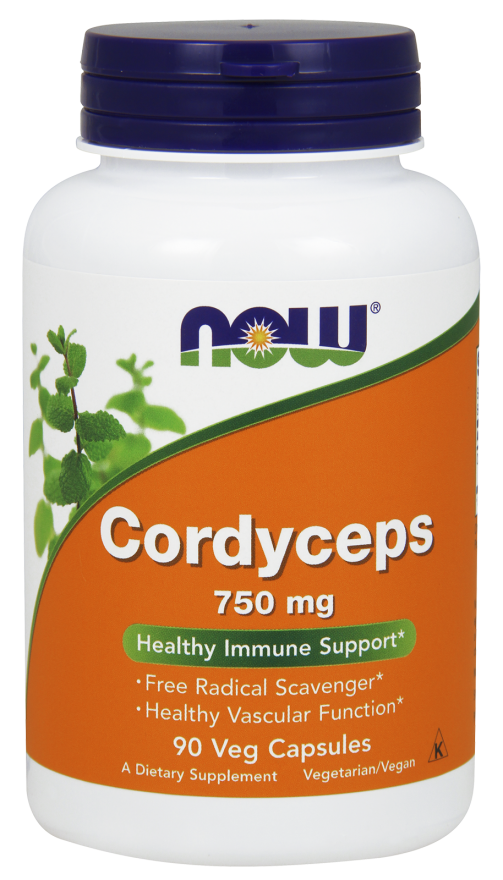 NOW CORDYCEPS 750MG 90VEG CAPS - Healthy U