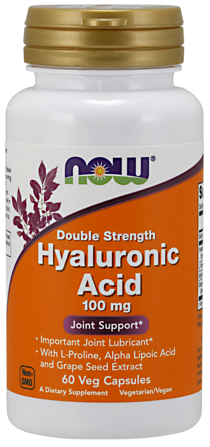 Now Hyaluronic Acid 60Vcaps