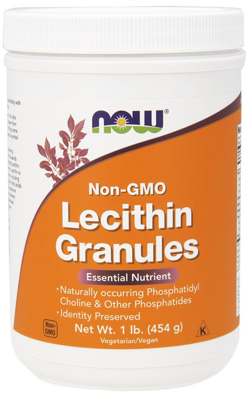 Now Lecithin Granules 454Gm