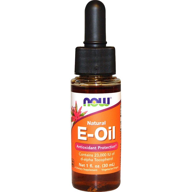 Now Natural Vit E Liquid 30Ml