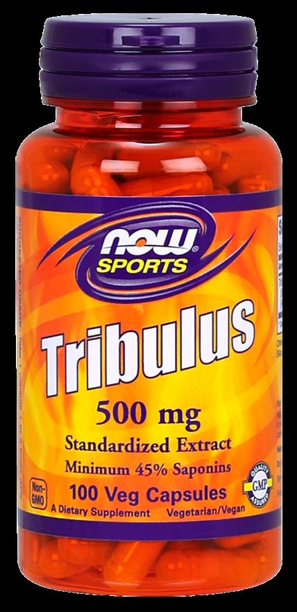 Now Tribulus 500Mg 100Caps