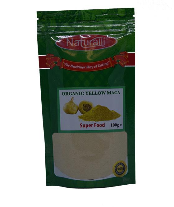 Naturalli Org Yellow Maca Powder 100Gm