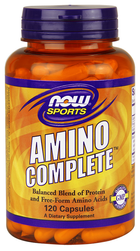 Now Amino Complete 120Caps