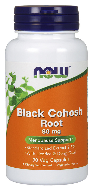 Now Black Cohosh Root 90Caps