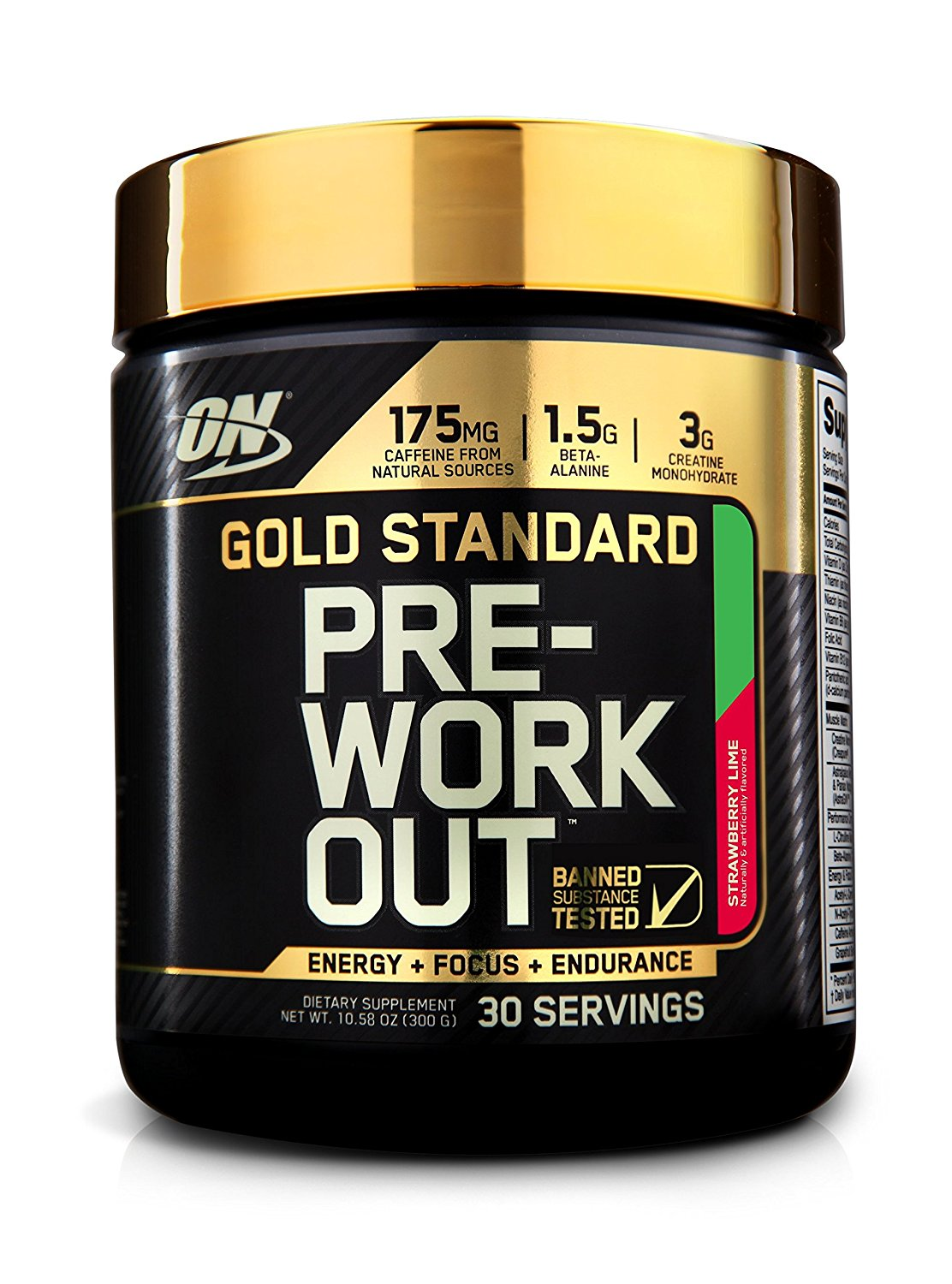 On Gs Pre-Workout Straw Lime 300G