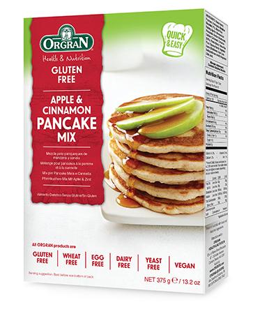 Orgran Appcinn Pancake Mix 325G S20218