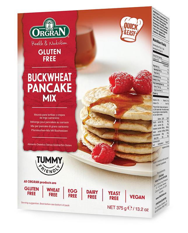 Orgran Buckwht Pancake Mix 375G