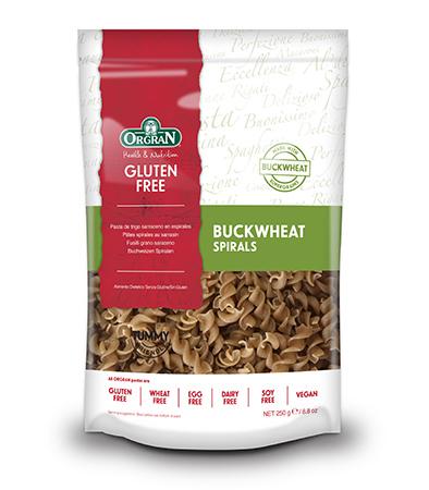 Orgran Buckwheat Pasta (Spirals) 250G #S00087