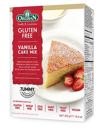 Orgran G/F Vanilla Cake Mix 375Gm