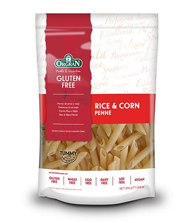 Orgran Ris O Mais Rice/Corn Penne 250G