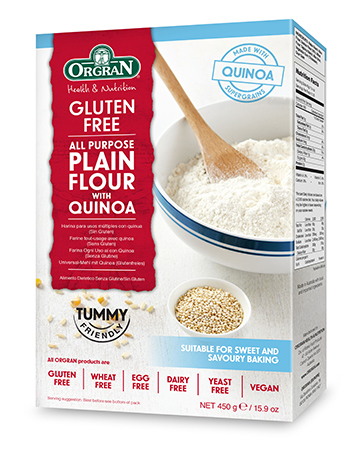 Orgran Self Raising Flour With Quinoa 500Gm S20517