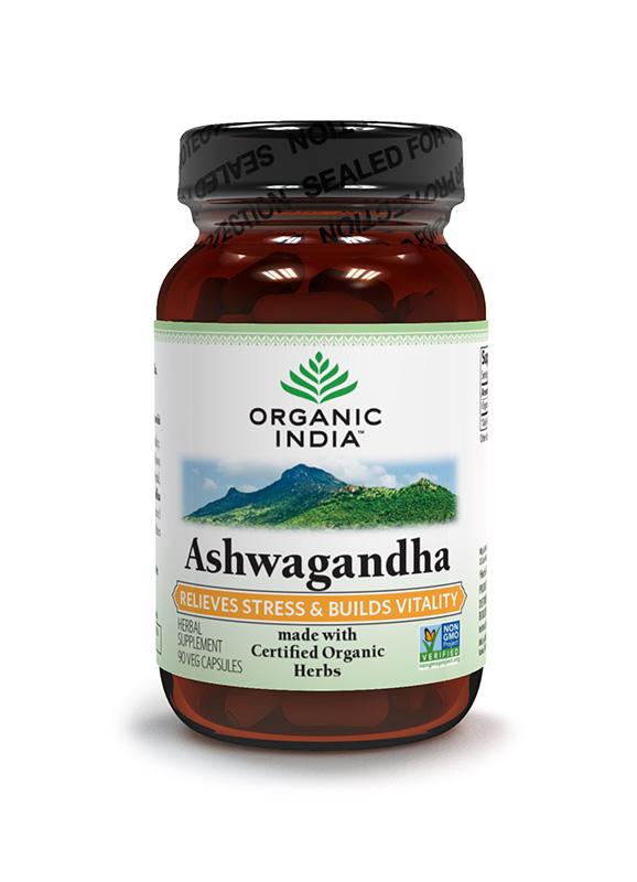 Organic India Ashwagandha 60Caps
