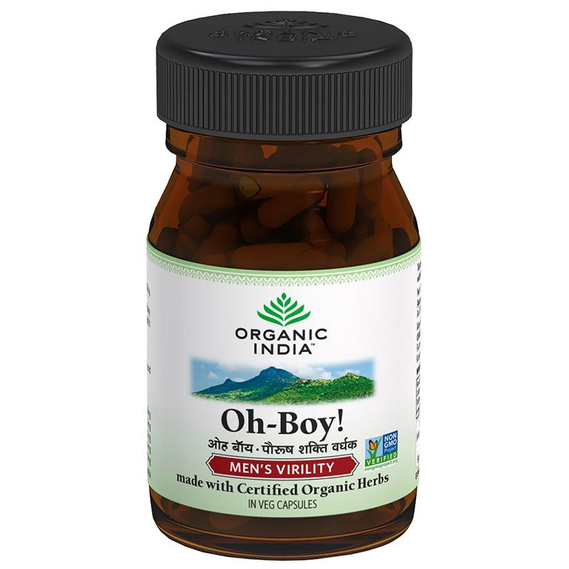 Organic India O-Boy Capsules 30Caps