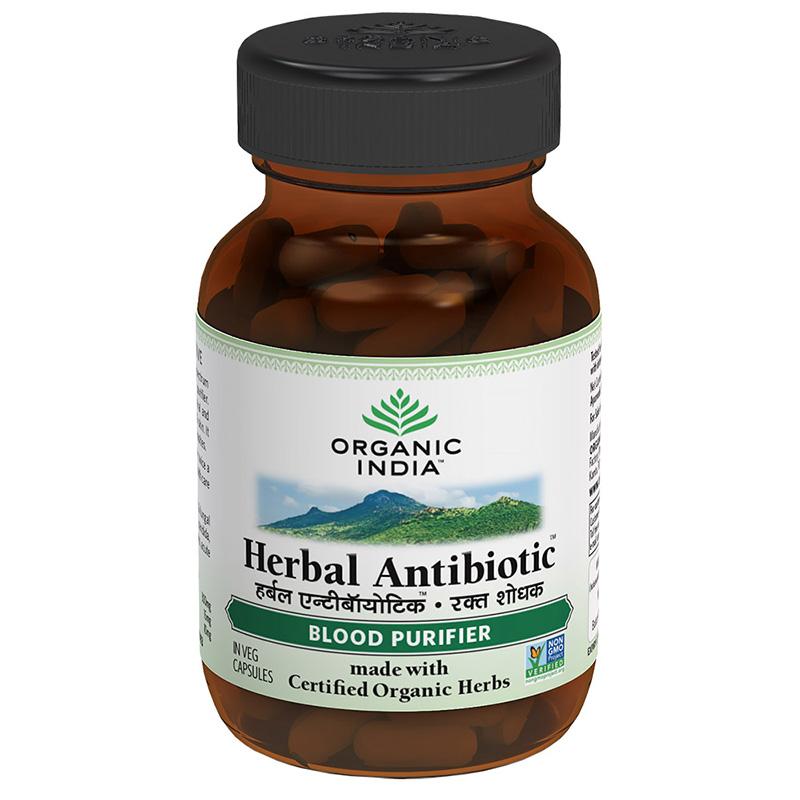 Organic India Herbal Antibiotics 60Caps
