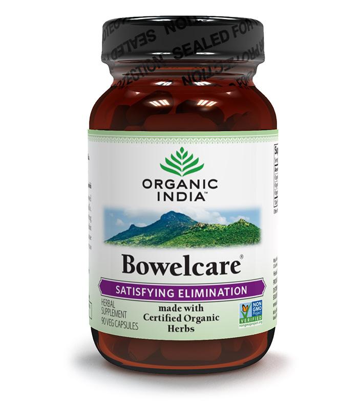 Organic India Bowelcare 60Caps