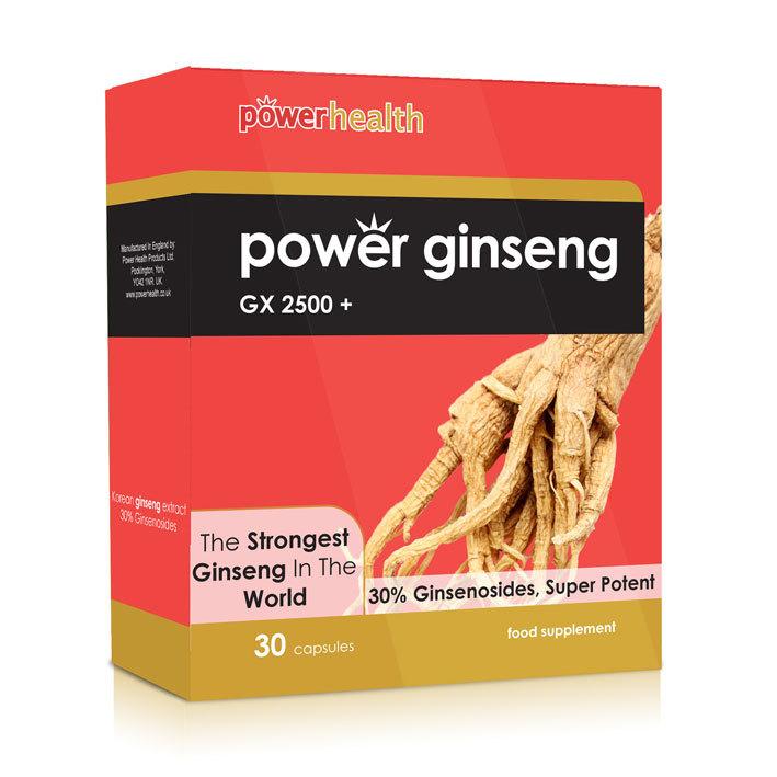 Power H Power Ginseng 30 Cap
