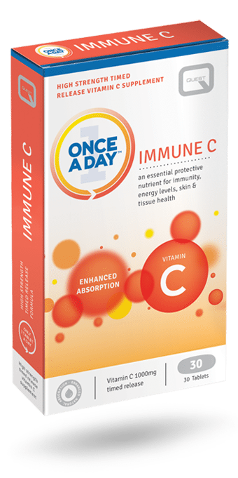 Quest Once A Day Immune C 30S