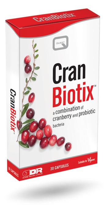 Quest Cran Biotix Women 30Caps