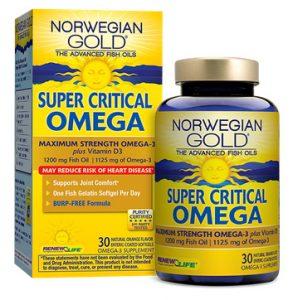 Renew Life Norwegian Gold Super Critical Omega 30'S